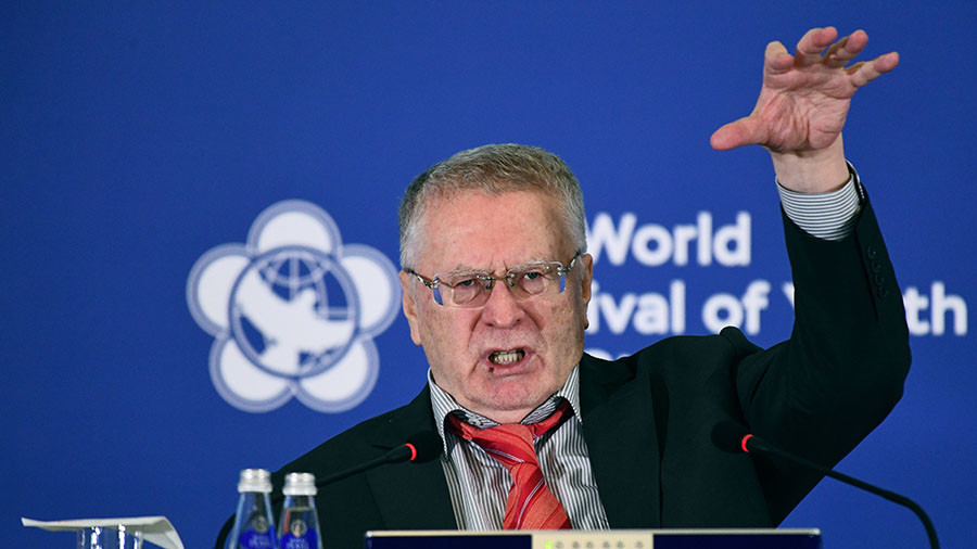 Liberal Democrats choose longtime leader Vladimir Zhirinovsky as future presidential candidate