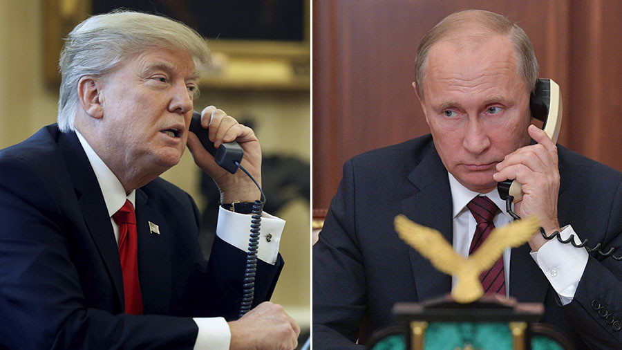 Putin says he will talk to Trump following Assad meeting
