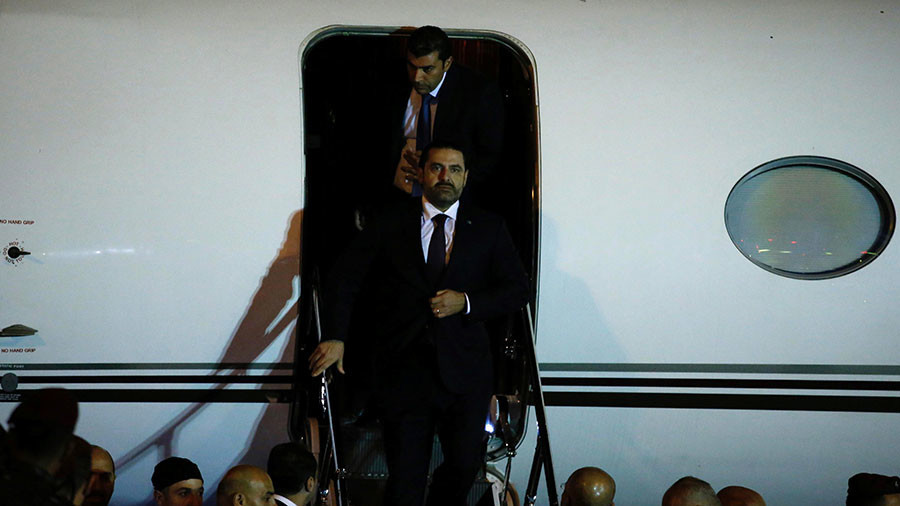 Lebanon's PM returns to Beirut after abrupt resignation while in Saudi Arabia  %Post Title