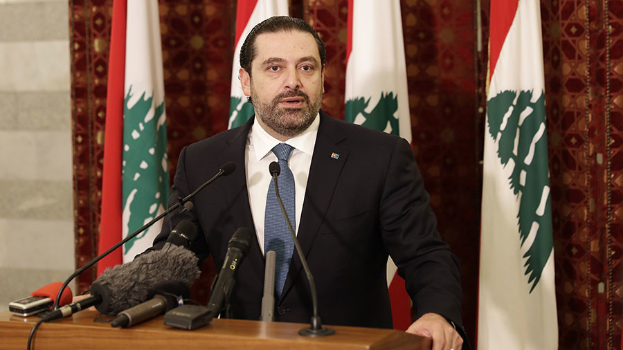 Lebanon PM Hariri says resignation on hold pending talks