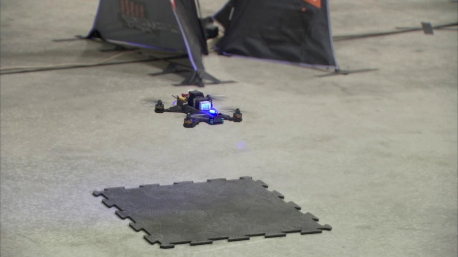 NASA's Google-funded AI drone faces man in final test (VIDEO)