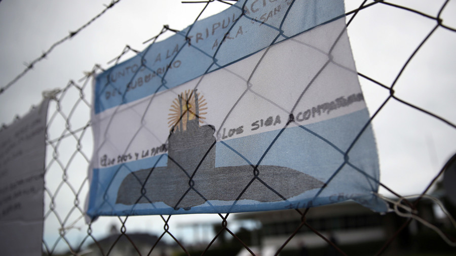 Event 'consistent with an explosion' near last known location of missing sub – Argentine navy