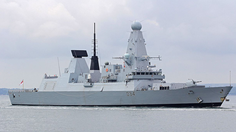 £1bn Royal Navy destroyer aborts Gulf mission after breakdown