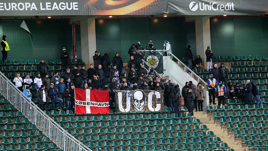 Danish fan fined, expelled from Russia after throwing flare at Moscow game