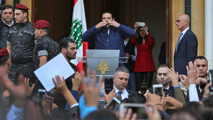 Hariri says he wants Lebanon to be 'neutral,' but won't let Hezbollah jeopardize regional security