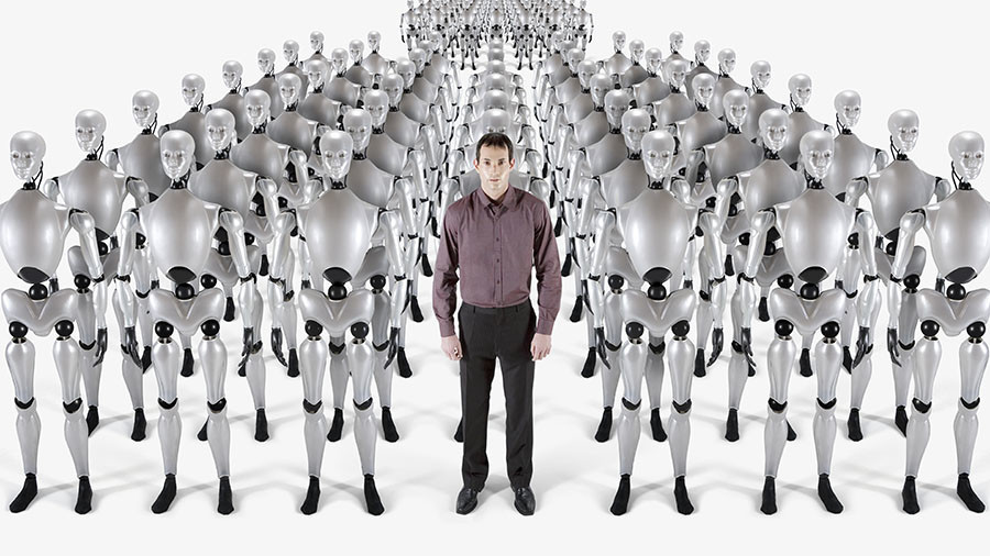 21st-century industrial revolution: Will robots steal your job?