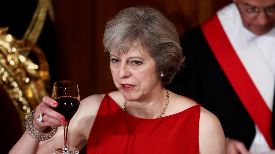 Time Prime Minister please: May could be banned from all her local pubs