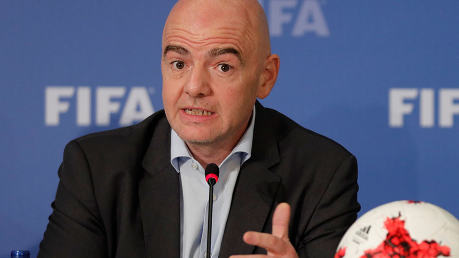 'We'll abandon games if there's racism from fans' – FIFA boss Infantino (VIDEO)