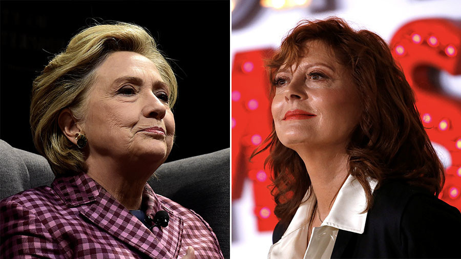 If Clinton had won we'd be at war – Susan Sarandon