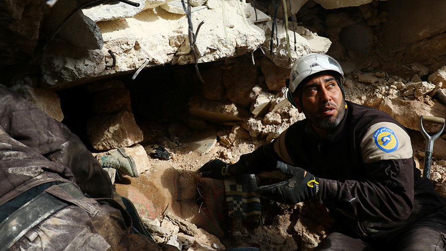 Reporters Without Borders seeks to cancel press event critical of White Helmets