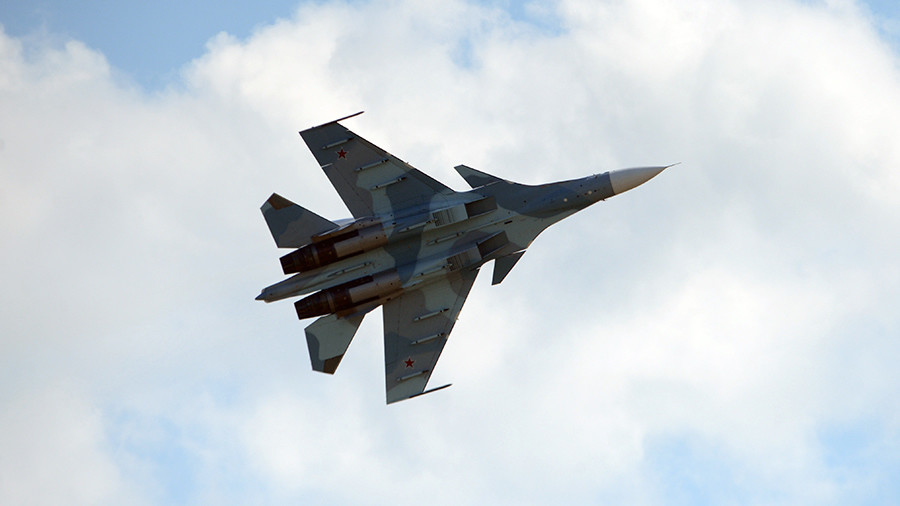 Russian fighter executes 'unsafe intercept' of US Navy plane over Black Sea