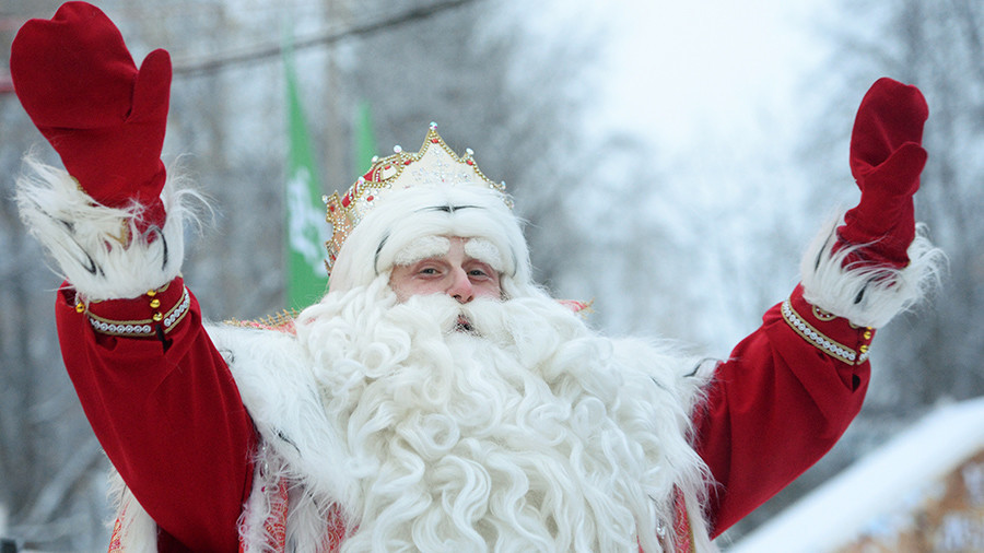'Bad Santa': Kids can be 'scared' of Father Frost, Siberian kindergartens warn