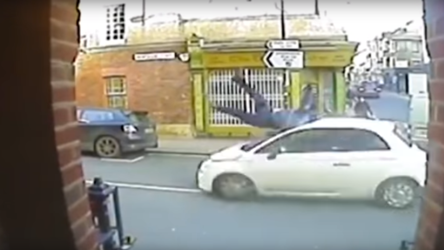 Horror hit & run caught on camera sees driver jailed (VIDEO)