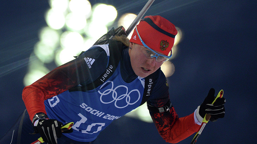 'I'd rather throw my medal in the dumpster than return it' – Russian biathlete banned by IOC