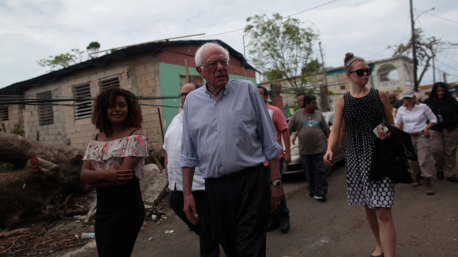 Bernie Sanders reveals $146bn relief bill for Puerto Rico and US Virgin Islands