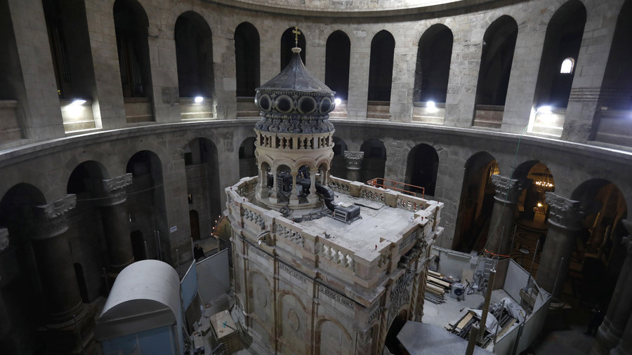 Dating tests on 'Christ's tomb' confirm origins of ancient shrine