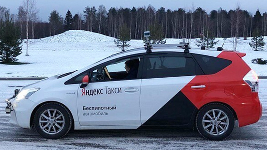 Russia's Yandex.Taxi takes self-driving car for first snow test