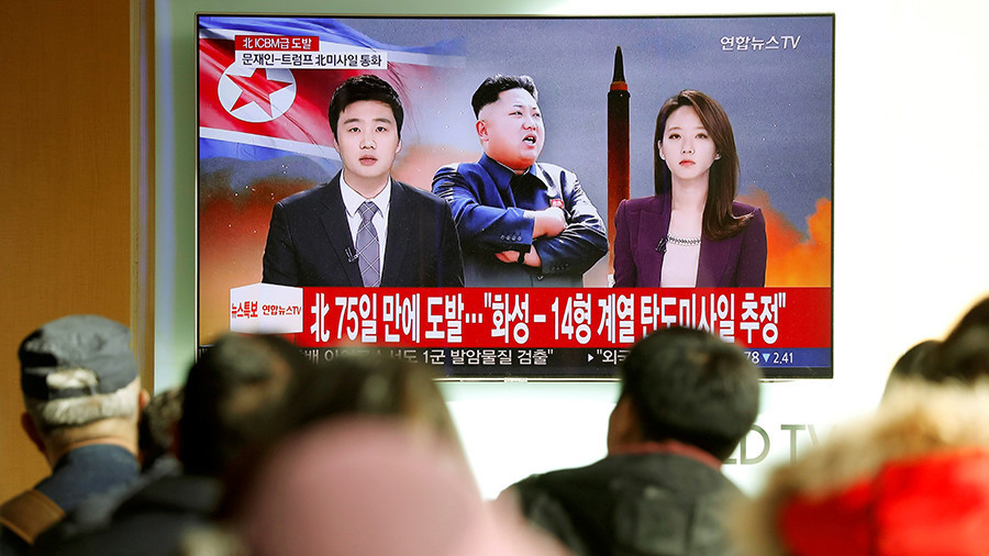 N. Korea missile lands in Japanese waters
