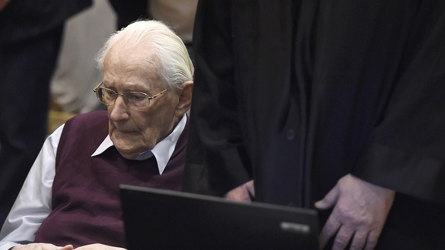 96yo 'Bookkeeper of Auschwitz' fit to serve jail term, says court