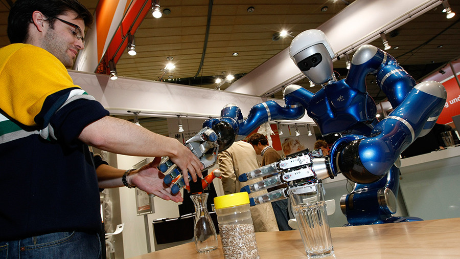 The robots are coming! Technology could replace up to 800mn jobs by 2030, study says