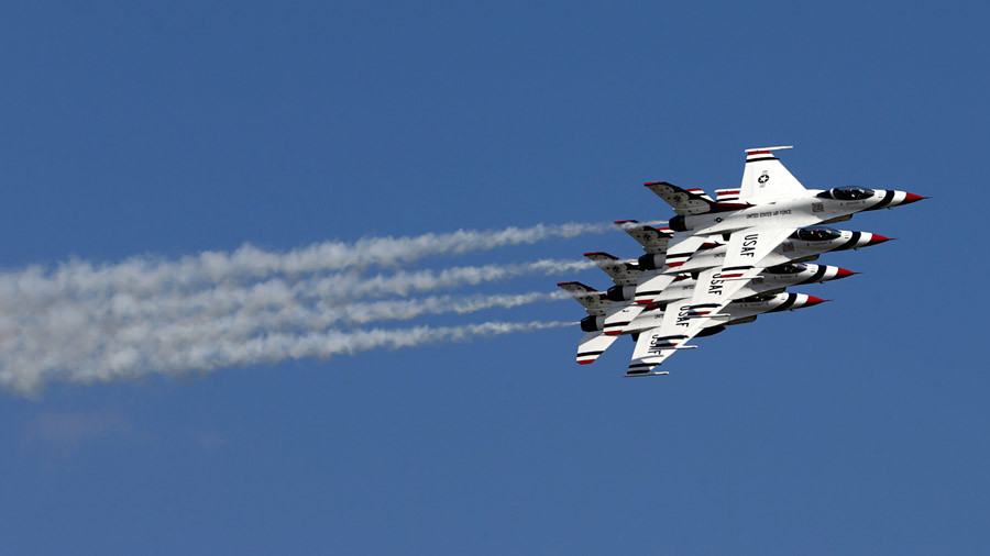 USAF aerobatics team 'Thunderbirds' commander axed over 'leadership & risk management style'