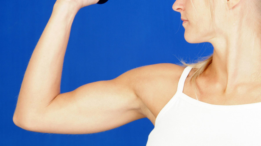 Pumping Iron Age! Ancient women had much stronger arms than today's female sports stars
