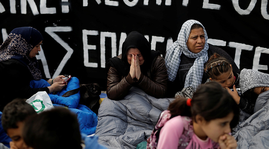 Refugees launch hunger strike in Greece, demand family reunification