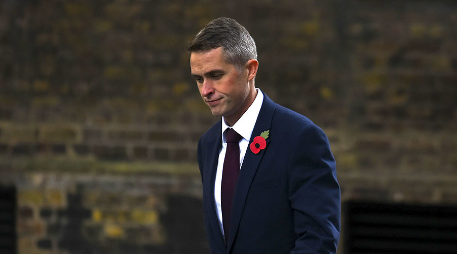 Theresa May refuses to defend Gavin Williamson over affair with junior employee