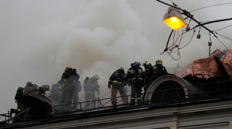 Fire breaks out at Moscow's Pushkin Museum, home to 700,000 artworks (PHOTOS, VIDEO)