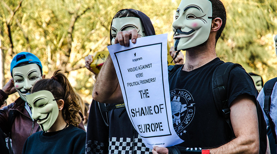 Anonymous activists hold Million Mask March worldwide (VIDEOS)