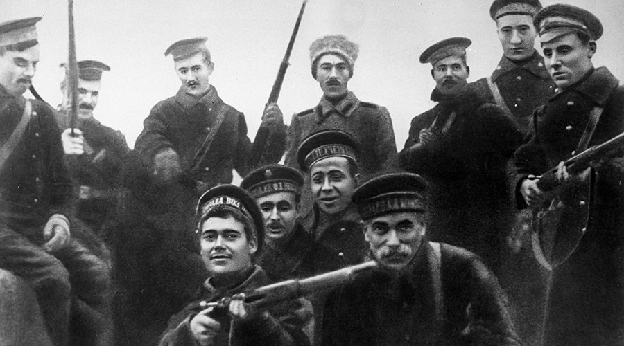 #1917LIVE: Russian Revolution in real time