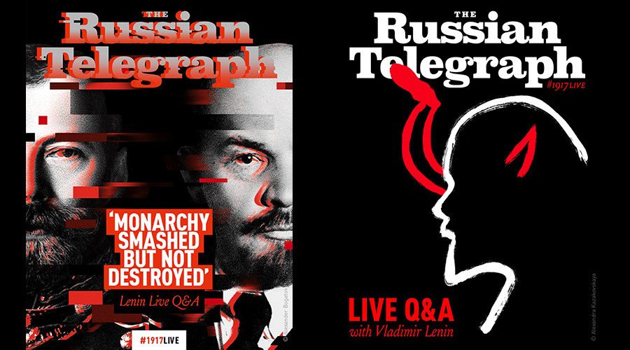 #1917LIVE: 100 incredible posters about 1917 Revolution go on World tour (PHOTOS)