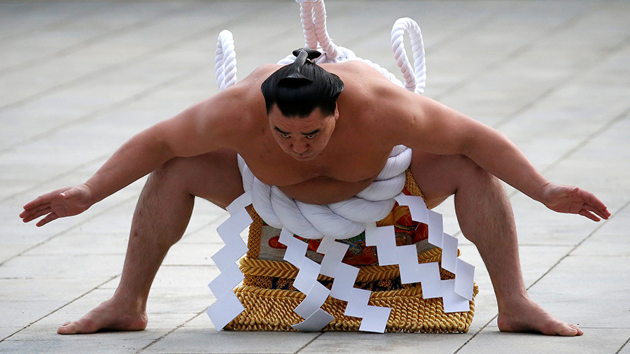 Mongolian sumo champion under investigation for beer bottle assault on fellow wrestler