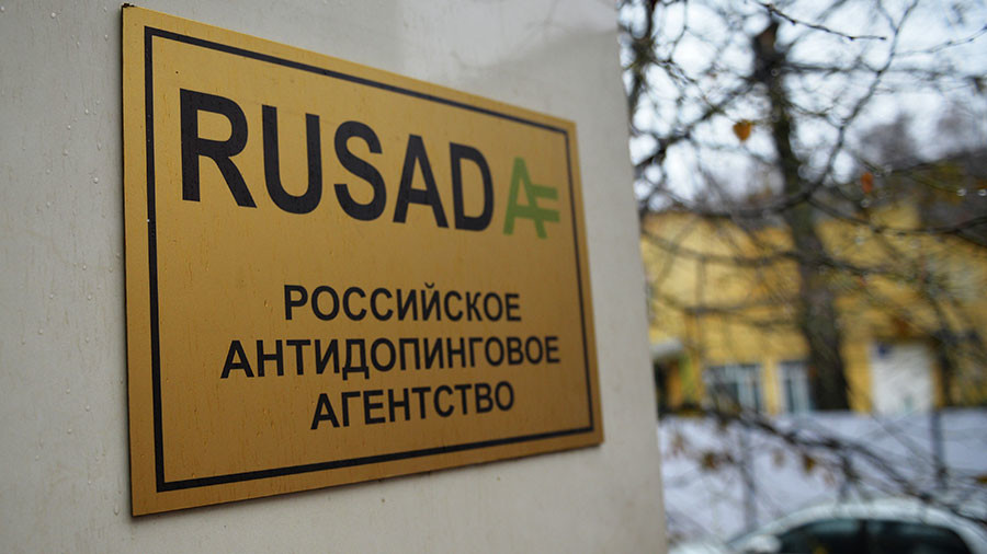 WADA foundation board declares Russian anti-doping agency 'non-compliant' with international code