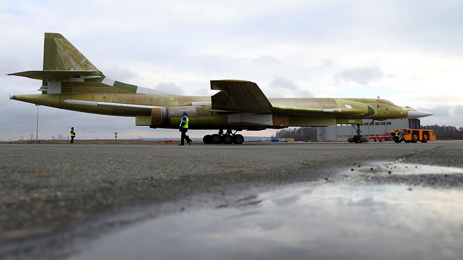 Blackjack returns: Russia unveils newly built Tu-160 supersonic strategic bomber
