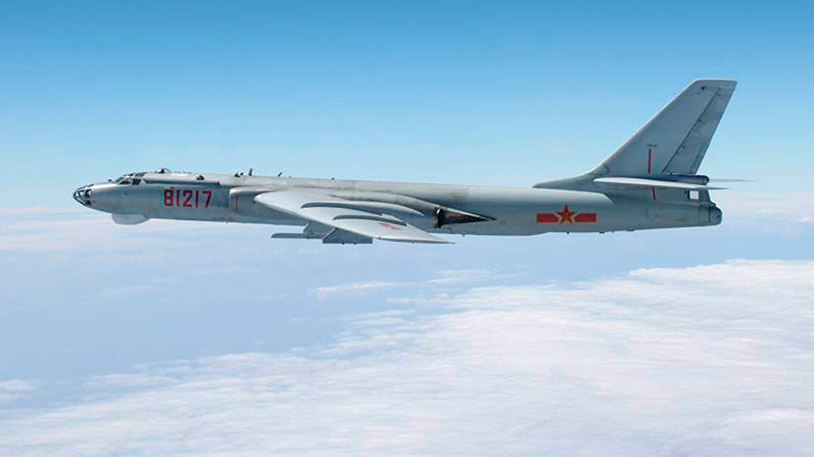 Japan scrambles fighter jets after Beijing flies bombers over E. China Sea