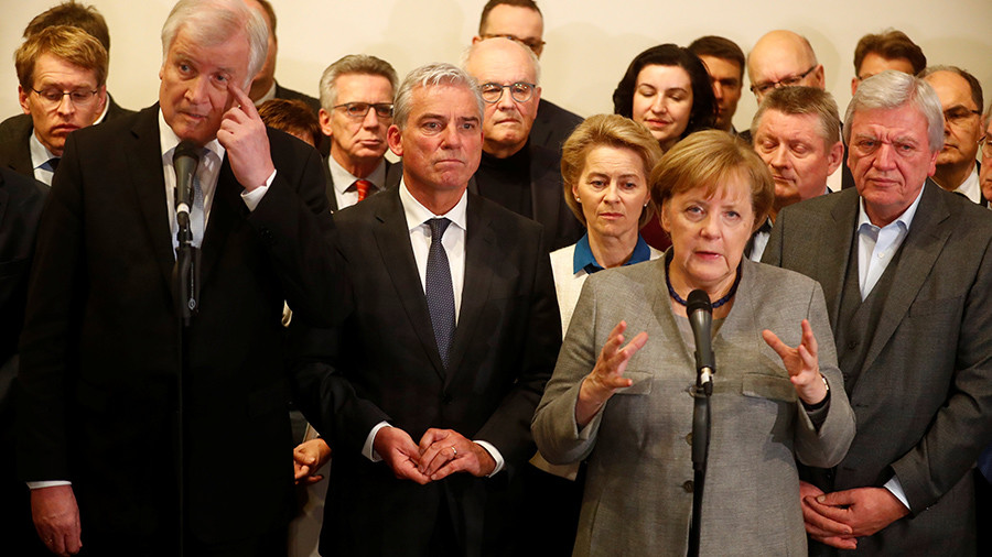 New German parliament to cap refugee inflow & scrap tax hike – coalition roadmap