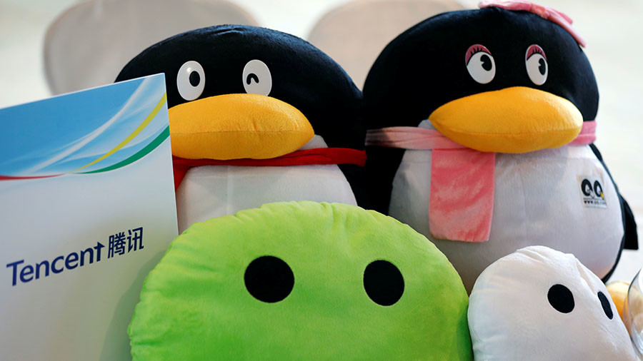 China's Tencent overtakes Facebook to become world's biggest social network