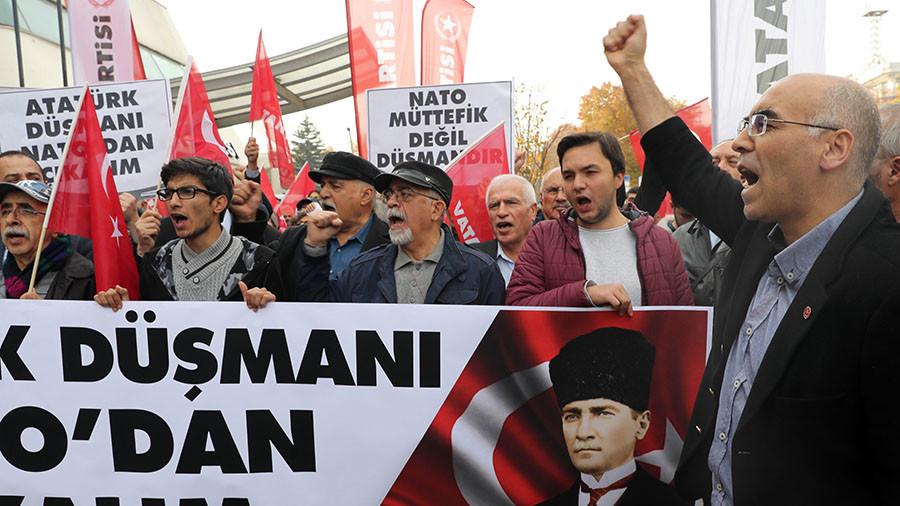 Turkish ex-major returns NATO decoration over Erdogan & Ataturk 'enemy' depiction in drill