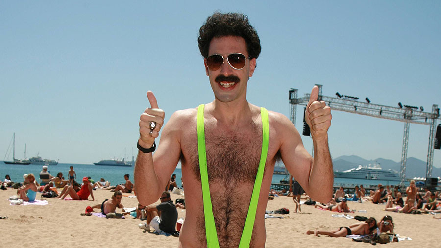 Borat offers to pay fines for Mankini-wearing tourists arrested in Kazakhstan