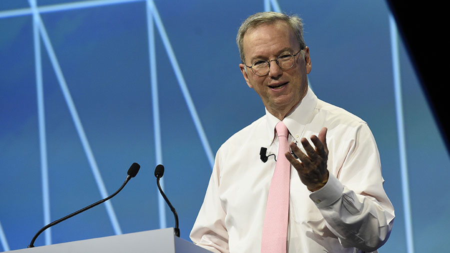 Google's Eric Schmidt, arbiter of news, has long history with Obama & Clinton