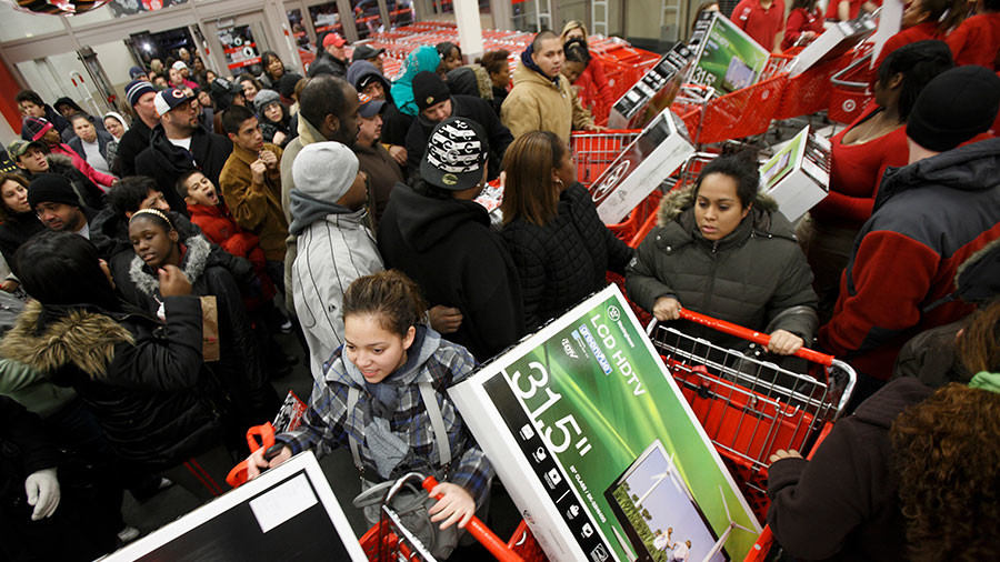 Police go undercover on Black Friday to curb violence & theft across US
