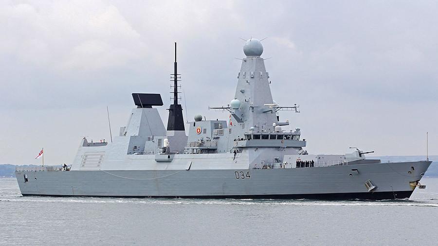 £1bn Royal Navy destroyer aborts Gulf mission after breakdown