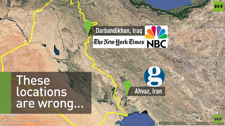 False news reports in NYT, Guardian & NBC following Iran-Iraq earthquake (VIDEO)