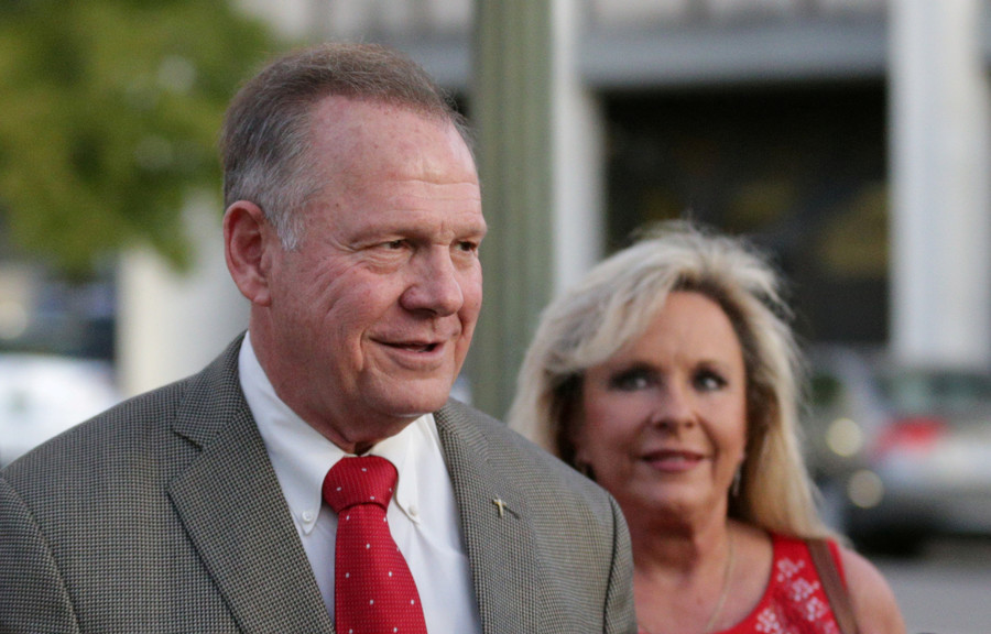 12yo 'Trump Girl' interviews Roy Moore before Alabama election