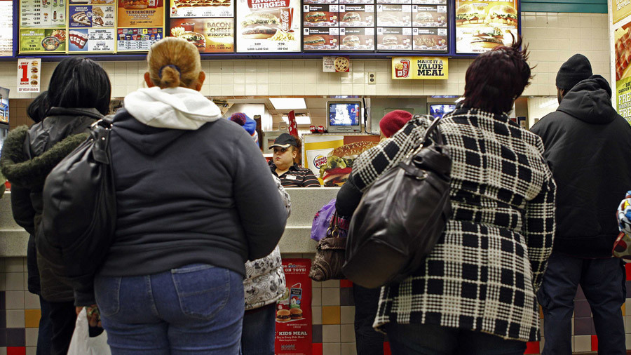 Hold that Whopper! 57% of US children will be obese at age 35