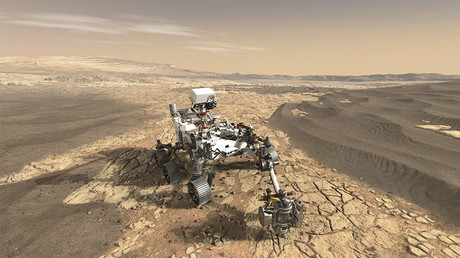 Mars Rover snaps selfie and takes stunning panorama of Red Planet (PHOTOS, VIDEOS)