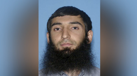 Sayfullo Saipov, the suspect in the New York City truck attack. © New York PD