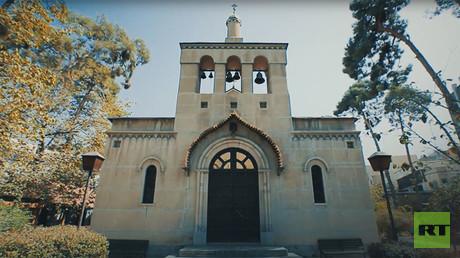 St. Nicholas Orthodox Church in Tehran, Iran, 2017