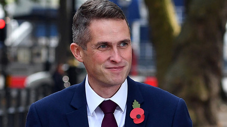 Britain's Secretary of State for Defence Gavin Williamson © Andrew Parsons / Global Look Press